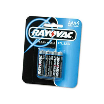 Alkaline Batteries, AAA, 4/Pack 824-4F