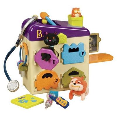B. toys B. Pet Vet Clinic
