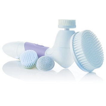 Vanity Planet Spin for Perfect Skin Cleansing Facial Brush, Gray [Grey]