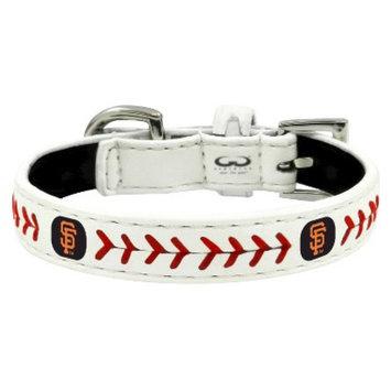 GameWear San Francisco Giants Classic Leather Toy Baseball Collar
