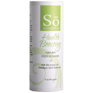 So Essential Health Boosting Natural Foot Powder, 2.6-Ounce