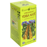 EcoTeas Yerba Mate Unsmoked Herbal Supplement
