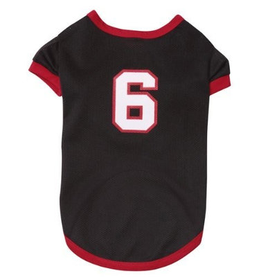 Casual Canine Game Day Jersey Beach - Black