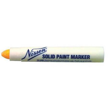 Nissen Permanent Paint Marker, Fluorescnt Orange Model: 00308