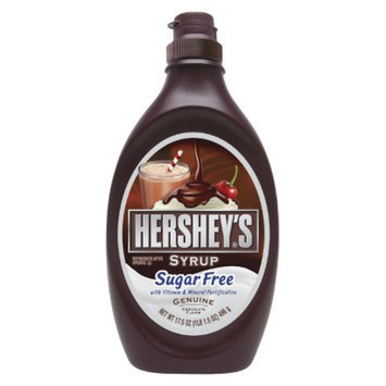 HERSHEY Hershey's Sugar Free Chocolate Syrup - 17 oz. Squeeze Bottle