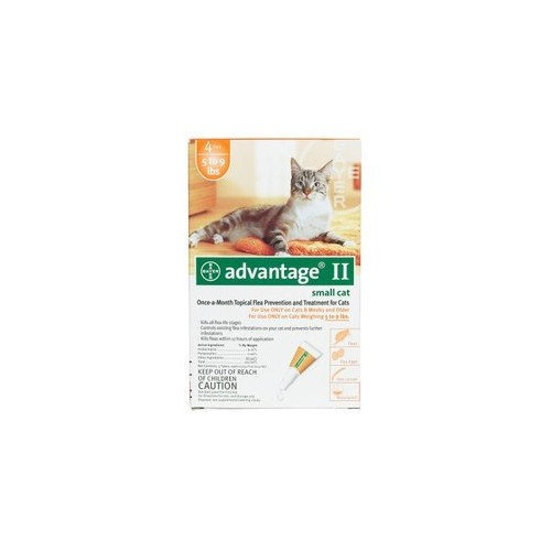 Advantage Flea Control For Cats 1-9 Lbs 4 Month Supply