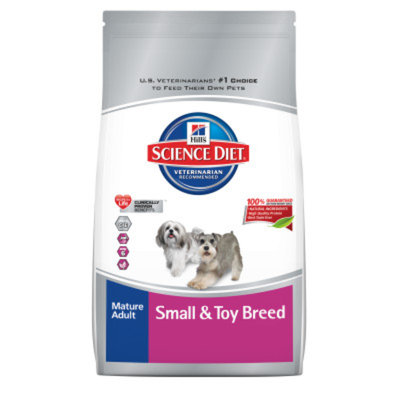 Hill's Science Diet Small & Toy Breed Mature Adult Dog Food