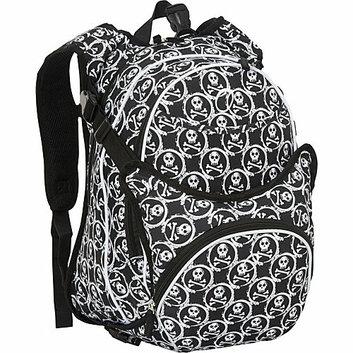O3 USA Innsbruck Diaper Bag Backpack With Detachable Cooler