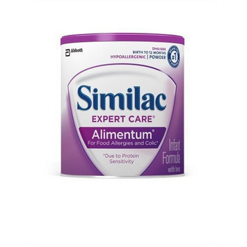 Similac Expert Care Alimentum Infant Formula with Iron, Powder, 1 Pound (Pack of 6)
