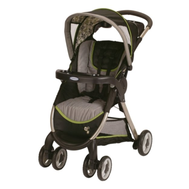 how to open graco classic connect stroller