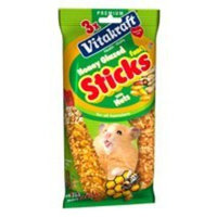 Vitakraft Hamster Honey Glazed Sticks 6.3oz bag
