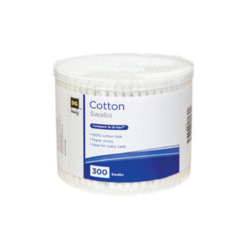DG Body Cotton Swabs - 300 ct