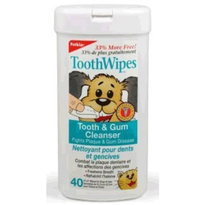 Petkin ToothWipes Tooth & Gum Cleanser