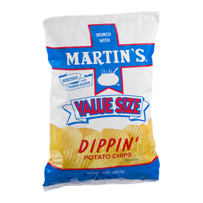 Martin's Dippin' Potato Chips Value Size