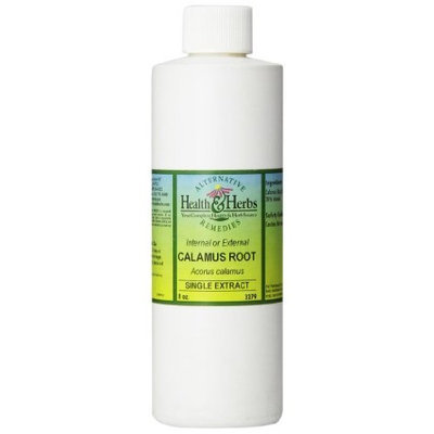 Alternative Health & Herbs Remedies Calamus Root, 8-Ounce Bottle