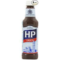 Hewlett Packard H P Sauce, 15-Ounce Plastic Bottles (Pack of 4)