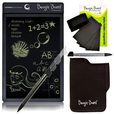 Improv LCD Writing Tablet in Black With Accessory Kit