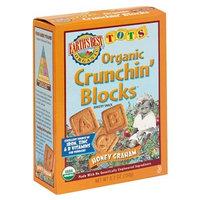 Earth's Best Organic Tots Crunchin Blocks, Honey Graham, 5.3-Ounce Boxes (Pack of 6)