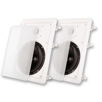 Acoustic Audio MT6 500 Watt Pair In-Wall/Ceiling Home Theater Surround Speakers