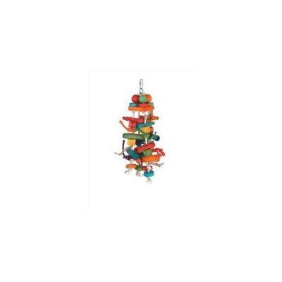 Caitec Bird Toys Caitec 507 7 in. x 18 in. Chew and Push Pull