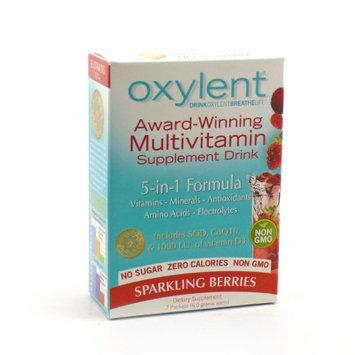 Oxylent - Sparkling Berries No Sugar Oxylent 7 Packet