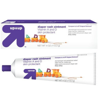 up & up Diaper Rash Ointment Vitamin A & D 4 oz