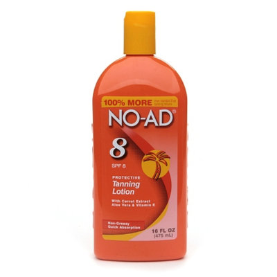 NO-AD Protective Tanning Lotion