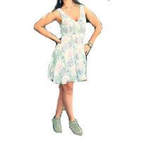 Free People Soft Pastel Print Dress is Daydream