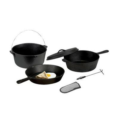 Stansport Cast Iron Cook set - Black