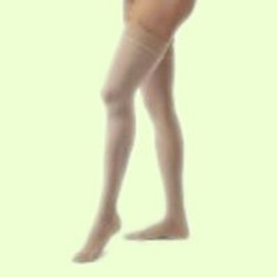 BSN Medical COMPRESSION STOCKINGS OPAQUE 20-30 THIGH HIGH CLOSED TOE DOT HON XL