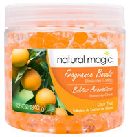 Natural Magic 4110 12 oz. Fragrance Gel Beads - Citrus Zest
