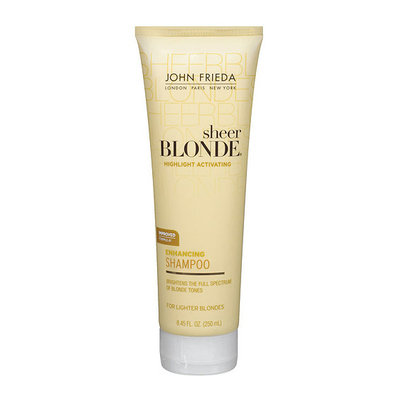 John Frieda Sheer Blonde Highlight Activating Daily Shampoo