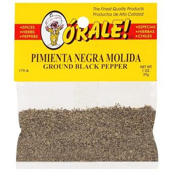 Orale Ground Black Pepper, 1 oz