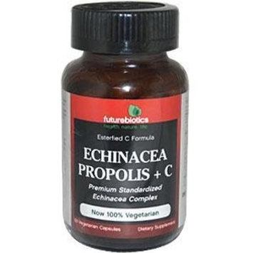 Future Biotics Futurebiotics Echinacea Propolis + C 50 Vegetarian Capsules