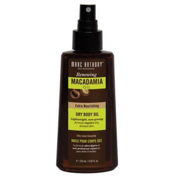 Marc Anthony True Professional Dry Body Oil, Healing Macadamia Oil, 4.05 fl oz