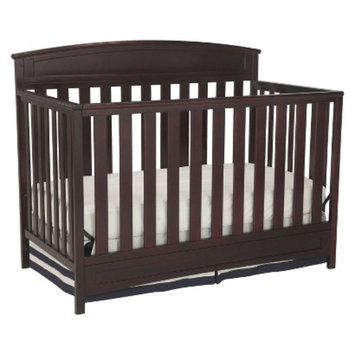 Delta Children s Sutton 4-in-1 Convertible Crib - Espresso