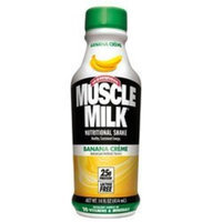 Cytosport Inc. Muscle Milk, Banana, 14 Oz. Plastic Bottles (Pack of 24)