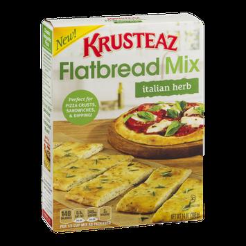 Krusteaz Flatbread Mix Italian Herb