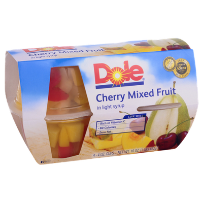 Dole Cherry Mixed Fruit in Light Syrup