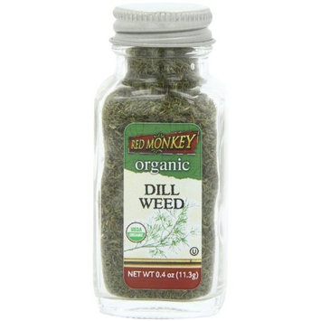 Red Monkey Foods Red Monkey Organic Dill Weed, 0.4 Ounce (Pack of 3)