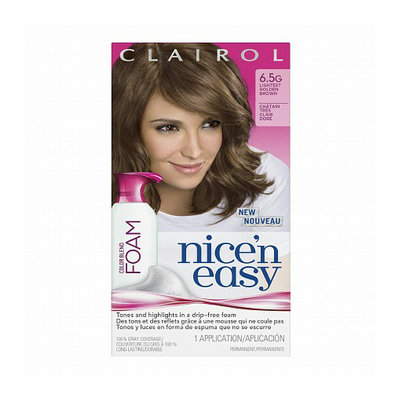 Clairol Nice 'n Easy Color Blend Foam Permanent Haircolor