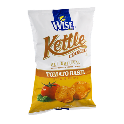 Wise Kettle Cooked Tomato Basil Potato Chips