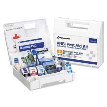 First Aid Only, Inc. First Aid Only 141-piece Ansi First Aid Kit - 141 X Piece[s] For 25 X Individual[s] (fao-90589)