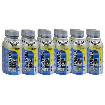 ABB Diet Turbo Tea Anytime Energy Dietary Supplement Liquid 18 oz Bottles 24 Pack Lemon Tea