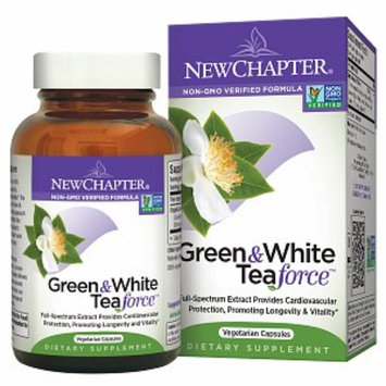 New Chapter Organics Green & White Tea Force