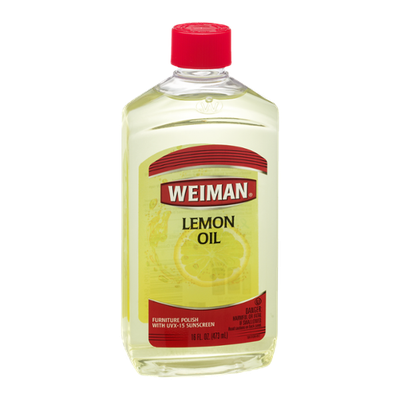 Weiman Lemon Oil Furniture Polish With UVX-15 Sunscreen