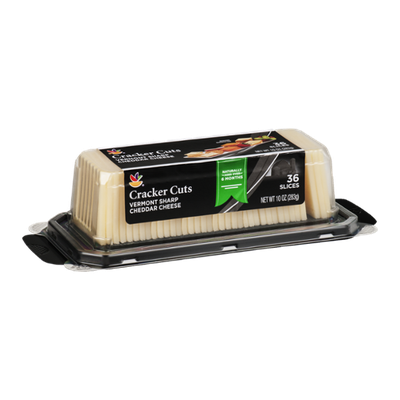 Ahold Cracker Cuts Vermont Sharp Cheddar Cheese - 36 CT