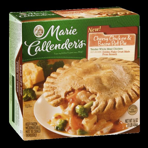 Marie Callender's Pot Pie Cheesy Chicken & Bacon