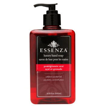 Essenza Luxury Hand Soap, Pomegranate Acai, 16.9 fl oz