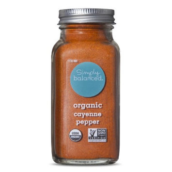 Simply Balanced Organic Ground Cayenne Pepper 2.8oz